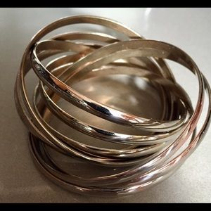 Jewelry - INTERTWINED BANGLE SET